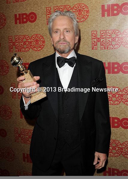 Pictured: Michael Douglas<br /> Mandatory Credit &copy; Rod Perry/Broadimage<br /> 2014 HBO Golden Globe After party<br /> <br /> 1/12/14, Beverly Hills, California, United States of America<br /> <br /> Broadimage Newswire<br /> Los Angeles 1+  (310) 301-1027<br /> New York      1+  (646) 827-9134<br /> sales@broadimage.com<br /> http://www.broadimage.com