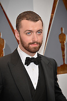Sam Smith at the 88th Academy Awards at the Dolby Theatre, Hollywood.<br /> February 28, 2016  Los Angeles, CA<br /> Picture: Paul Smith / Featureflash