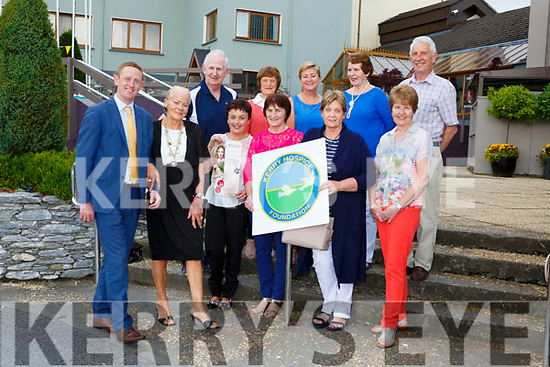 Colm Cooper and Bernie O'Sullivan practice their walk for the catwalk at the launch of the Kerry Hospice Foundation fashion show which will be held in the INEC on with Tuesday 5th September l-r: Phylis O'Sullivan, Kathleen  Ryan, Noreen collins, Kay Spillane, Back row l-r: Cathal Walsh, Geraldine Guilfoyle, Noreen O'Donoghue, Angela Curran, and Pat Doolin