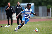 Valter Pedro Simao of Ilford during Ilford vs Harwich & Parkeston, Emirates FA Cup Football at Cricklefields Stadium on 10th August 2019