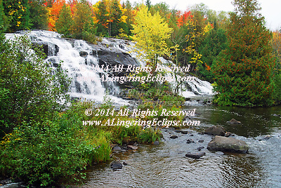 "Bond Falls is one of those ""best kept secret"" spots on the Western Upper Peninsula that you want to make sure you do not miss. This beautiful water fall is located on the middle branch of the Ontonagon River near Paulding. Although it does not get the ""press"" of more famous U.P. water falls, Bond Falls has a large following of admirers and had even been part of a calendar listing the most scenic natural places in the world!"