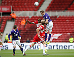 Richard Stearman of Sheffield Utd during the Championship match at the Riverside Stadium, Middlesbrough. Picture date: August 12th 2017. Picture credit should read: Simon Bellis/Sportimage