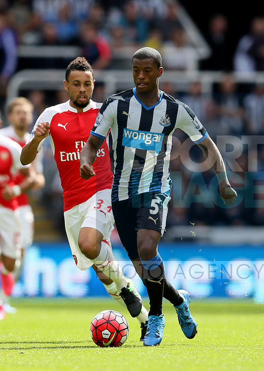 Georgina Wijnaldum of Newcastle United - English Premier League - Newcastle Utd v Arsenal - St James' Park Stadium - Newcastle - England - 28th August 2015 - Picture Simon Bellis/Sportimage