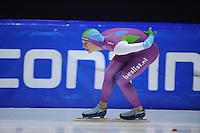 SCHAATSEN: HEERENVEEN: 29-11-2014, IJsstadion Thialf, KNSB trainingswedstrijd, Hein Deelstra, ©foto Martin de Jong