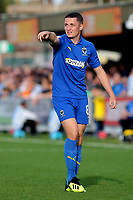 Anthony Hartigan of AFC Wimbledon during AFC Wimbledon vs Portsmouth, Sky Bet EFL League 1 Football at the Cherry Red Records Stadium on 13th October 2018