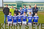 Allianz Cumann na mBunscol Finals at the John Mitchels GAA ground on Friday Pictured Scoil Bhreac Chluain, Annascaul - Patrick May, David Smith, Sean Kennedy, Killian, Falvey, Sean Finn, David Barrett, Back Daniel O'Sullivan, Clarui Mhurchadha, Jack Moriarty, Kevin Griffin, Colm Moriarty, Darragh Hickson Spillan and John Lenihan