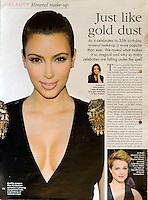 Hello Magazine<br /> Kim Kardashian by RKE<br /> 40490<br /> tearsheet
