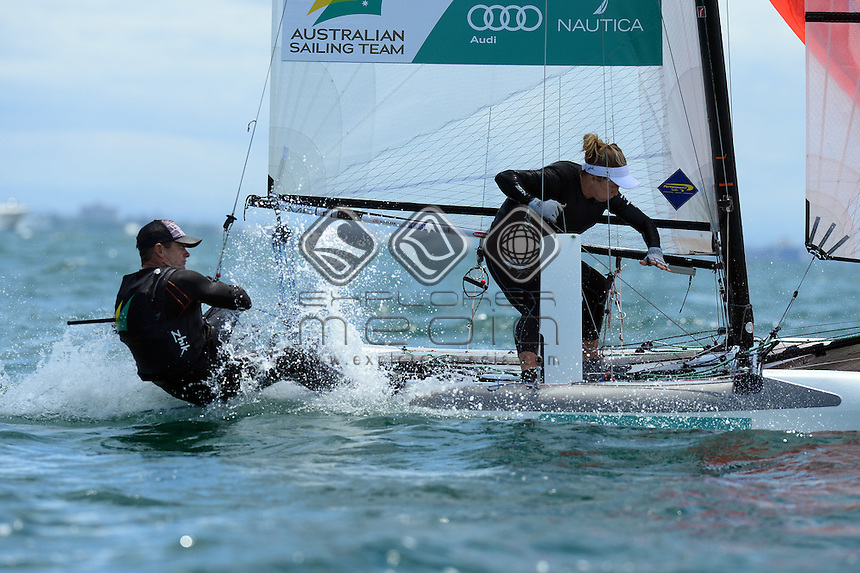 Darren Bundock &amp; Nina Curtis (AUS)<br />
