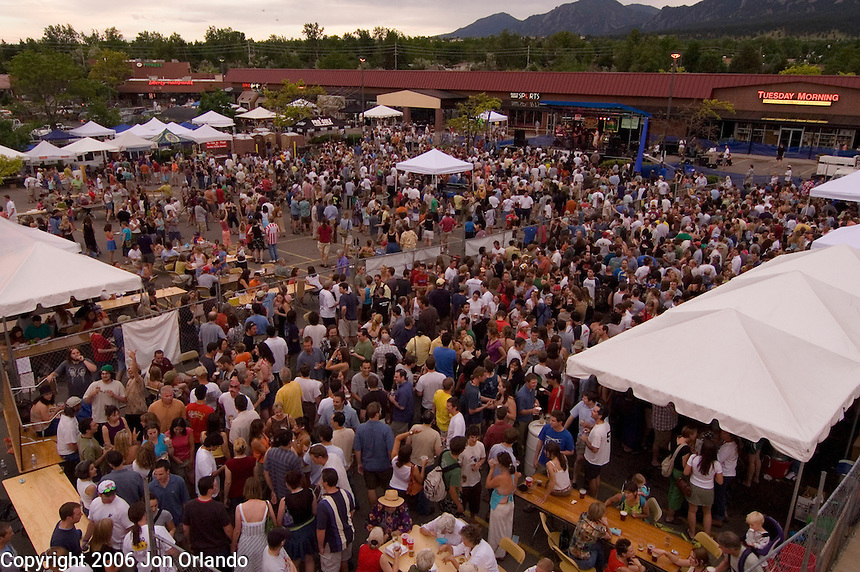 SOBO Summerfest in Boulder, CO on June 3rd, 2006.