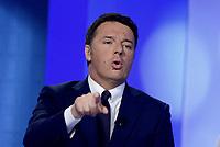 Matteo Renzi a L'Aria che tira