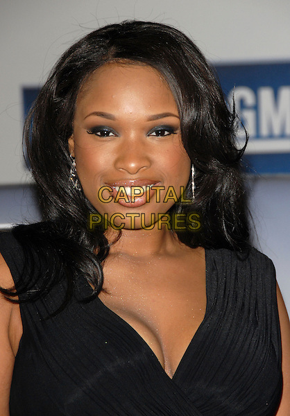 JENNIFER HUDSON.The 6th Annual GM Ten Fashion Show & Concert held at Paramount Studios in Hollywood, California, USA. - Arrivals.February 20th, 2007.headshot portrait .CAP/DVS.©Debbie VanStory/Capital Pictures