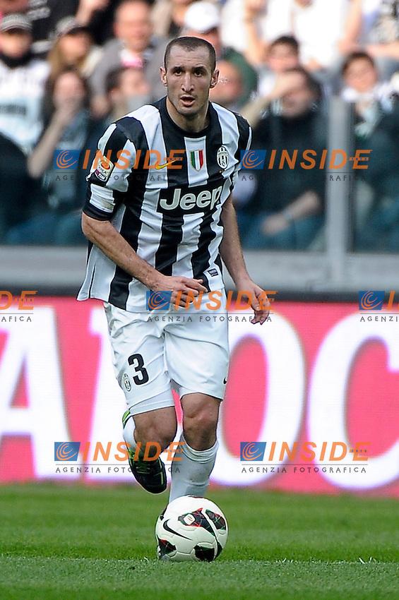 Giorgio Chiellini Juventus .Torino 10/03/2013 Juventus Stadium.Football Calcio Serie A  2012/13. Juventus vs Catania.Foto Insidefoto Federico Tardito