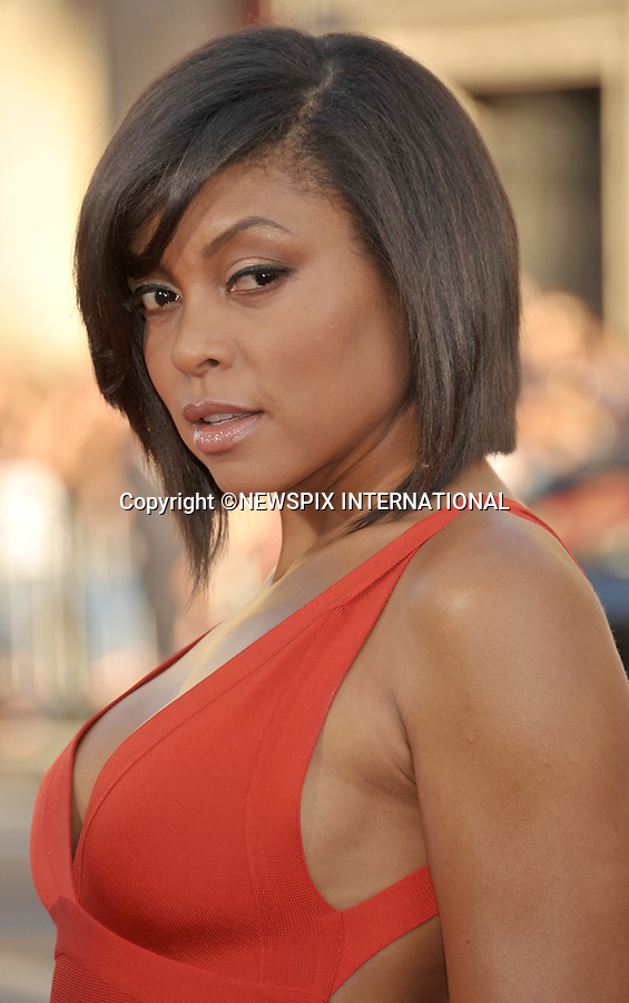 """TARAJI P HENSON.attends the World Premiere of """"Larry Crowne"""" at the Grauman's Chinese Theatre, Hollywood, Los Angeles, California_27/06/2011.Mandatory Photo Credit: ©Crosby/Newspix International. .**ALL FEES PAYABLE TO: """"NEWSPIX INTERNATIONAL""""**..PHOTO CREDIT MANDATORY!!: NEWSPIX INTERNATIONAL(Failure to credit will incur a surcharge of 100% of reproduction fees).IMMEDIATE CONFIRMATION OF USAGE REQUIRED:.Newspix International, 31 Chinnery Hill, Bishop's Stortford, ENGLAND CM23 3PS.Tel:+441279 324672  ; Fax: +441279656877.Mobile:  0777568 1153.e-mail: info@newspixinternational.co.uk"""
