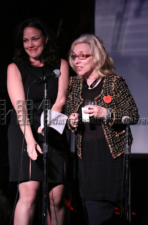 Georgia Stitt and Marsha Norman performing at The Lilly Awards Broadway Cabaret at the Cutting Room on October 17, 2016 in New York City.