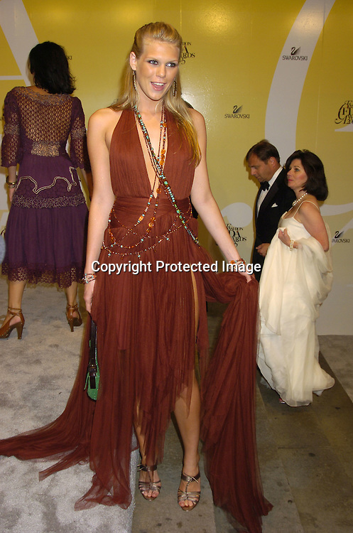 Alexandra Richards..at the 2005 CFDA Fashion Awards on June 6, 2005 at ..the New York Public Library. ..Photo by Robin Platzer, Twin Images