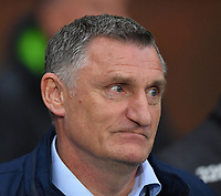 Blackburn Rovers' Manager Tony Mowbray<br /> <br /> Photographer Dave Howarth/CameraSport<br /> <br /> The EFL Sky Bet Championship - Blackburn Rovers v Derby County -Tuesday 9th April 2019 - Ewood Park - Blackburn<br /> <br /> World Copyright &copy; 2019 CameraSport. All rights reserved. 43 Linden Ave. Countesthorpe. Leicester. England. LE8 5PG - Tel: +44 (0) 116 277 4147 - admin@camerasport.com - www.camerasport.com