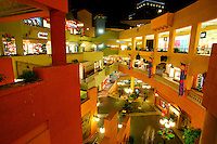 Horton Plaza shopping mall, downtown San Diego, California