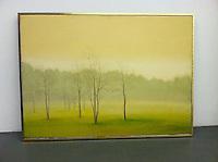 "Artist:<br /> In House Rentals: Contemporary<br /> Reference #<br /> 1321_148dp<br /> Title: Trees in The Mist<br /> Preston: <br /> Framed Dims.<br /> 33"" x 43"" <br /> Framel Silver Leaf Float<br /> Medium<br /> Digital Print <br /> Price<br /> Available upon request"