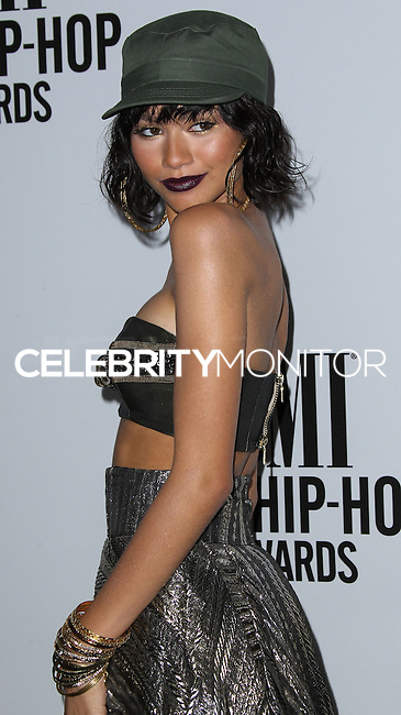 HOLLYWOOD, LOS ANGELES, CA, USA - AUGUST 22: Zendaya, Zendaya Coleman at the BMI R&B/Hip-Hop Awards 2014 held at the Pantages Theatre on August 22, 2014 in Hollywood, Los Angeles, California, United States. (Photo by Xavier Collin/Celebrity Monitor)