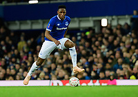 Everton's Yerry Mina<br /> <br /> Photographer Chris Vaughan/CameraSport<br /> <br /> Emirates FA Cup Third Round - Everton v Lincoln City - Saturday 5th January 2019 - Goodison Park - Liverpool<br />  <br /> World Copyright &copy; 2019 CameraSport. All rights reserved. 43 Linden Ave. Countesthorpe. Leicester. England. LE8 5PG - Tel: +44 (0) 116 277 4147 - admin@camerasport.com - www.camerasport.com