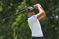 Henrik Stenson (SWE) watches his tee shot on 9 during round 3 of the WGC FedEx St. Jude Invitational, TPC Southwind, Memphis, Tennessee, USA. 7/27/2019.<br /> Picture Ken Murray / Golffile.ie<br /> <br /> All photo usage must carry mandatory copyright credit (© Golffile | Ken Murray)