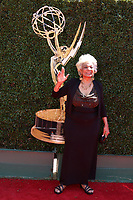 LOS ANGELES - APR 30:  Nichelle Nichols at the 44th Daytime Emmy Awards - Arrivals at the Pasadena Civic Auditorium on April 30, 2017 in Pasadena, CA