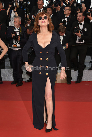 CANNES, FRANCE - MAY 12: Susan Sarandon at &acute;Money Monster` screening - 69th Cannes Film Festival, France May 12, 2016.<br /> CAP/PL<br /> &copy;Phil Loftus/Capital Pictures /MediaPunch ***NORTH AND SOUTH AMERICA ONLY***