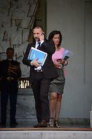 Christian Gravel ( conseiller en communication du president ) .Parigi 22/8/2012.Consiglio dei Ministri.Foto Insidefoto / Christian Liewig / FEP / Panoramic.ITALY ONLY