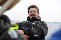 ZEILSPORT: TERHERNE: 12-06-2013, Leeuwarder Skûtsje training, ©foto Martin de Jong