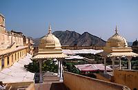 Indien, Festung Amber bei Jaipur, im Palast