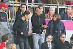 14.04.2018, Allianz Arena, Muenchen, GER, 1.FBL,  FC Bayern Muenchen vs. Borussia Moenchengladbach, im Bild  Arturo Vidal (FCB #23) auf der Tribuene<br /> <br />  Foto &copy; nordphoto / Straubmeier