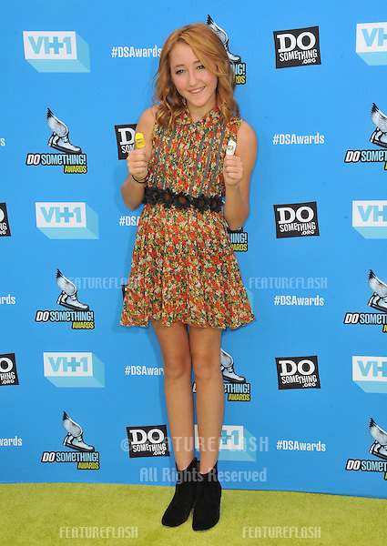 Noah Cyrus (sister of Miley Cyrus) at the 2013 Do Something Awards at The Avalon, Hollywood.<br /> July 31, 2013  Los Angeles, CA<br /> Picture: Paul Smith / Featureflash