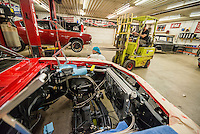 Commercial photography for the website of Hot Rod Factory in Bethel, Minnesota, which specializes in custom cars, classic and new, upgrades, creative automotive excellence. Photos by Minneapolis Commercial and Corporate Event Photographer Justin Cox.