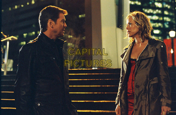PIERCE BROSNAN & MARIA BELLO.in Shattered .(Butterfly on a Wheel).(Desperate Hours).(The Butterfly ).*Filmstill - Editorial Use Only*.CAP/FB.Supplied by Capital Pictures.