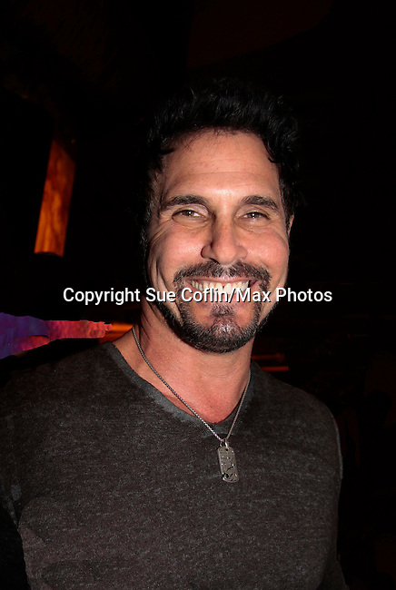 """Don Diamont """"Bill Spencer"""" hosts The Bold and The Beautiful viewing party of the 7000 episode at Parx Casino, Bensalem, Pennsylvania for fans at meet and greet, photos and all viewed the 7000 episode. (Photo by Sue Coflin/Max Photos)"""
