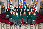 Bishop Ray Browne with the pupils of Firies NS who made their Confirmation in firies church on Thursday with class teacher Bernadette O'Leary, Principal Eileen Brosnan, PP Fr Tadhg O'Doherty