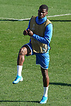Getafe's Florent Poulolo during training session. February 19,2020.(ALTERPHOTOS/Acero)