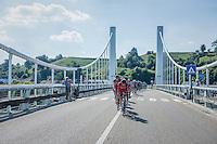 Team BMC pacing the peloton today<br /> <br /> 12th Eneco Tour 2016 (UCI World Tour)<br /> Stage 6: Riemst › Lanaken (185km)