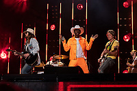 NASHVILLE, TENNESSEE - JUNE 08: Billy Ray Cyrus, Keith Urban, Lil Nas X perform onstage during day 3 of the 2019 CMA Music Festival on June 8, 2019 in Nashville, Tennessee. <br /> CAP/MPI/IS/AW<br /> ©MPIIS/AW/Capital Pictures