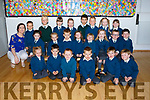 Nagle Rice Primary, MILLTOWN Miss Rose O Connor's Junior Infant Class Starting on Thursday Pictured  Front Row from Left: Amber Keating , Eoin McClure , Loughran Larkin, Matas Kerpe,Gerry Coleman, Robert Moriarty<br /> Middle Row: Zara Brosnan, Hannah Woods, Vilimas Kerpe, Saoirse-Mary Daly, Cillian Cronin, Kate O'Connell,Michael Heasman, Josh O' Sullivan. Back Row: Teacher Miss O Connor,  Bendeguz Nagy, Max Dumka, Miriam Harris, Liliana O'Connor, Daniel Bialek, Noah Narkevicius, Lexi O' Connor.