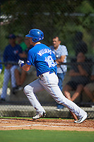 Toronto Blue Jays Christian Williams (18) during an instructional league game against the Philadelphia Phillies on October 3, 2015 at the Carpenter Complex in Clearwater, Florida.  (Mike Janes/Four Seam Images)