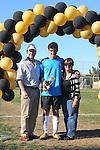 Palos Verdes, CA 02/09/12 - Tyler Eliel (Peninsula #1) during the open ceremony on parents' day.
