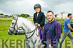 Leah Sheehan, Killarney and Adrianne Sheehan, Killarney with Molly the Pony at the KERRY PONY SOCIETY 37th Annual Show & Gymkhana At Blennerville on Sunday