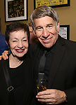 Lynn Ahrens and Stephen Schwartz attends the After Party for the Dramatists Guild Foundation toast to Stephen Schwartz with a 70th Birthday Celebration Concert at The Hudson Theatre on April 23, 2018 in New York City.