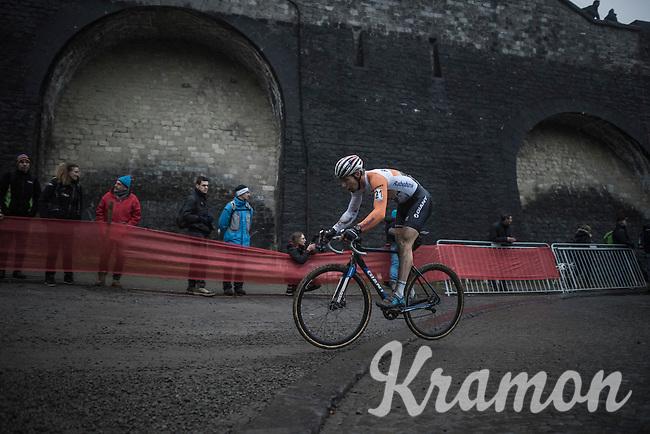'Flying Dutchman' Stan Godrie (NED/Rabobank Development) in action<br /> <br /> UCI Cyclocross World Cup Namur/Belgium 2016