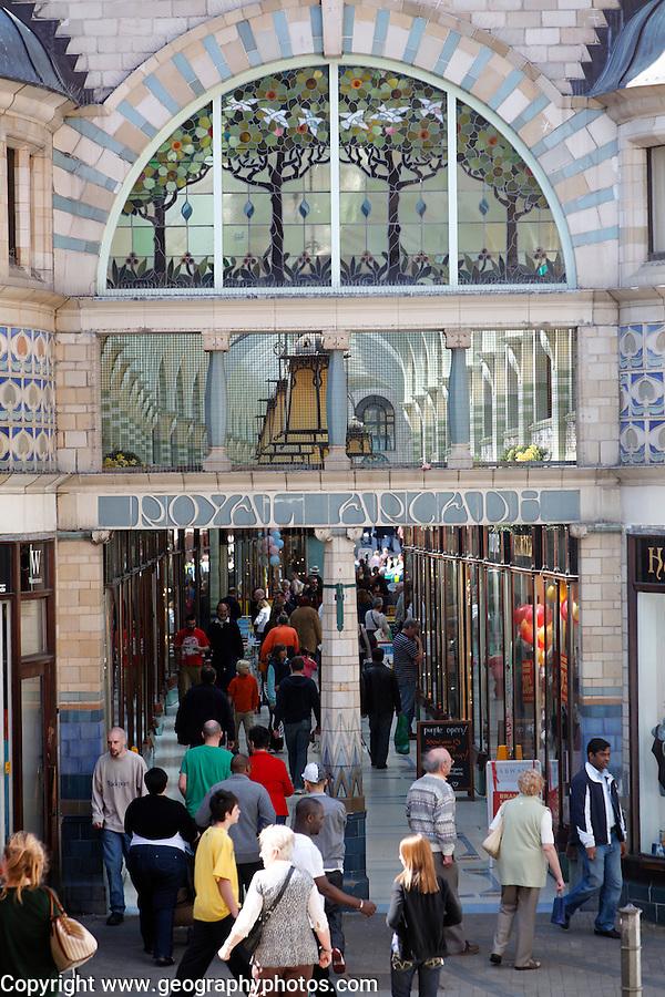 Royal Arcade, Norwich, England