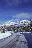 Highway 191, wyoming, The Pinnacles, winter, Dubois, Wyoming, Togwotee Trail, Togwotee Pass,