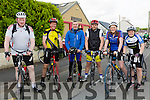 Martin Mulligan, Des Collins, Richard Boyle, Cahill King, Niamh O'Connor and Helena Cullinane at the Currow Cycling Club and Currow Ladies GAA club fund raising cycle starting at the Community Centre on Sunday