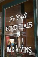"""Europe/France/Aquitaine/33/Gironde/Bordeaux:""""Le Café Bordelais"""" 15 allées de Tourny"""