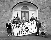 1987:  Residents of Westminster's Walterton and Elgin Estates leave the West Drayton HQ of management consultants PMI after confronting directors.